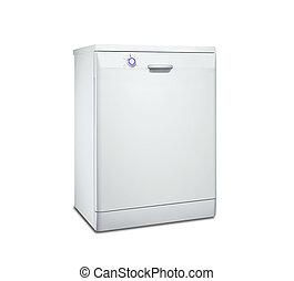 dishwasher isolated on a white background