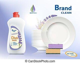 dishwashing, seife, flüssiglkeit