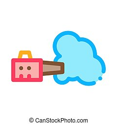 Disinfection Tool Icon Vector Outline Illustration