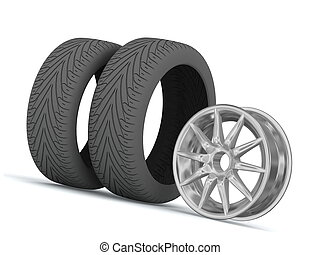 Disk and tires - Disk and tires