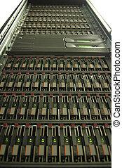 Disk array - A modern disk array for file storage