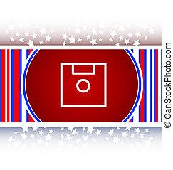 disk web button (icon)