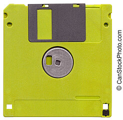 Diskette isolated on white background