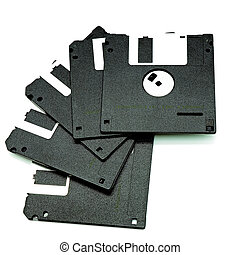diskette - Diskette using as the storage information