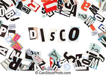 disko, inschrift