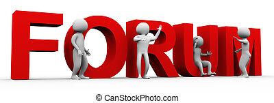 diskussion, maenner, forum, 3d