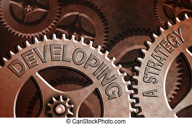 diskutierenden geschäft, entwickeln, text, begrifflich, vision, foto, business., ausstellung, ideen, marketing, neu , schreibende, hand, planung, ziel, strategy.