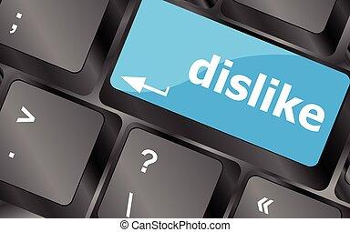 dislike key on keyboard for anti social media concepts. Keyboard keys icon button vector. Keyboard Icon, Keyboard Icon Vector, Keyboard Icon Art, Keyboard Icon App
