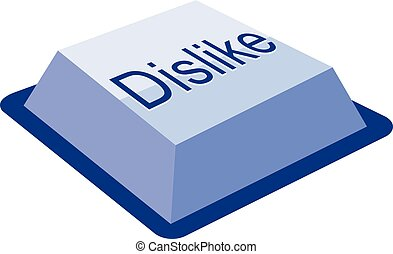 dislike keyboard button