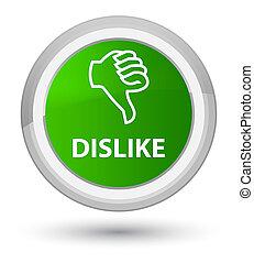 Dislike prime green round button