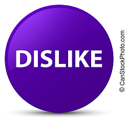 Dislike purple round button