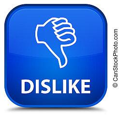 Dislike special blue square button