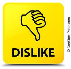 Dislike yellow square button