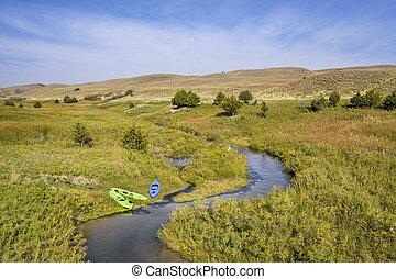 Dismal River in Nebraska Sandhills
