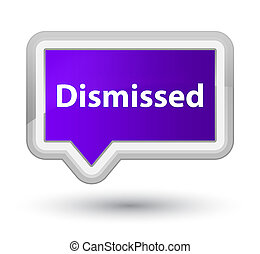 Dismissed prime purple banner button
