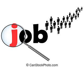 disoccupazione, tema