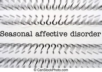 disorder affective seasonal