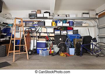 disordine, garage