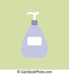 Dispenser bottle icon.