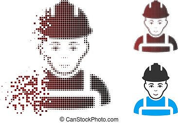 Dispersed Pixel Halftone Builder Icon