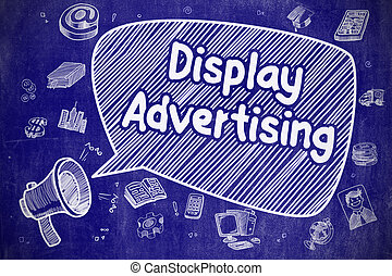 Display Advertising - Business Concept.
