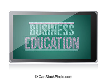 display., education, business, tablette