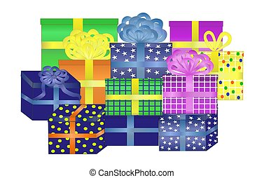 Display of Lots of Presents