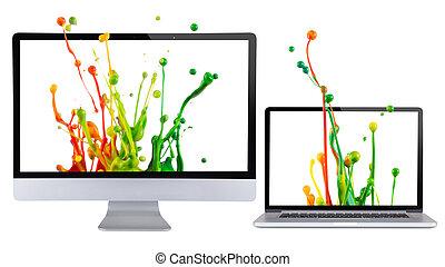 display., počítač