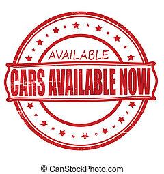 disponible, coches, ahora