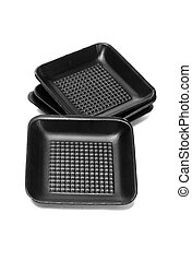 Disposable Black Styrofoam Trays - Disposable Black...