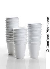 Disposable Cup close up shot