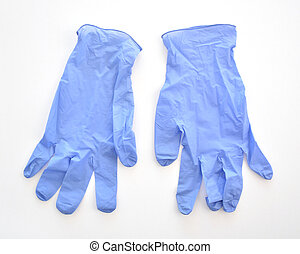 Disposable medical latex gloves - Disposable purple medical ...