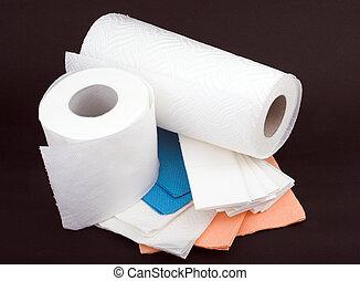 Disposable paper