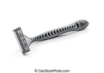 disposable razor isolated on white background
