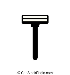 disposable shaving razor icon