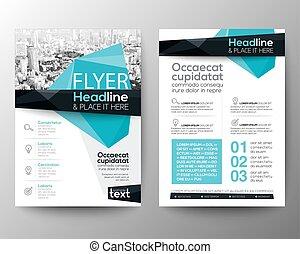 disposición, polígono, cartel, Extracto, Plano de fondo,  vector, diseño, bajo, aviador, folleto, plantilla