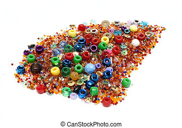 Disposit of the beads 2