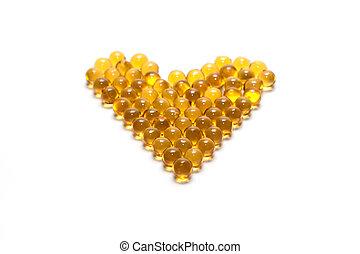 Disposit of the capsules cod-liver oil 2