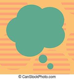 disposition, annonces, business, bulle, couleur, affiche, invitation, salutation, pensée, forme, vecteur, parole, vide, gabarit, vide, floral, promotion, présentation, carte, bon