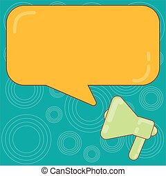disposition, reflet, affaires colorent, affiche, invitation, salutation, rectangulaire, vecteur, parole, vide, gabarit, vide, promotion, porte voix, bulle, carte, bon