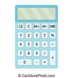 dispositivo, calculadora, aislado