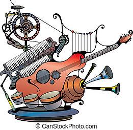 dispositivo, música
