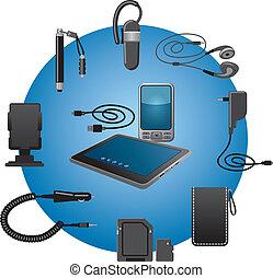 dispositivos, accesorios