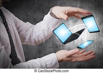 dispositivos, conexão