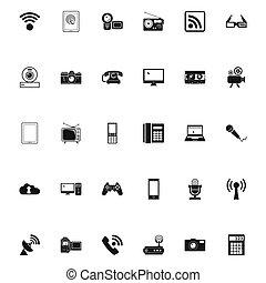 dispositivos, icons.