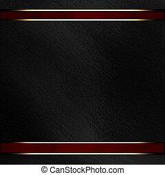 disposizione, struttura, scuro, nero, striscia, fondo, rosso