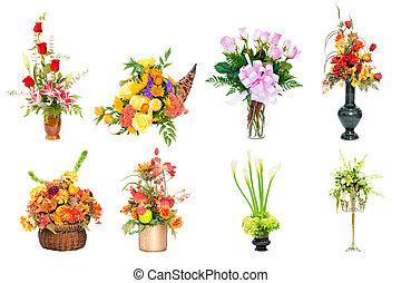 disposizioni fiore, collezione
