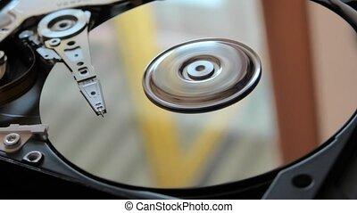 disque, commande dure