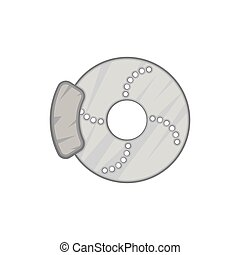 disque frein ic ne r paration concept service voiture calibre disque frein icon. Black Bedroom Furniture Sets. Home Design Ideas
