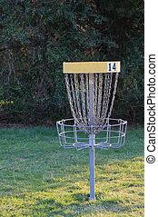 disque, golf